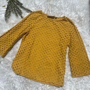 ✨3/$9✨ Women's Yellow Blouse